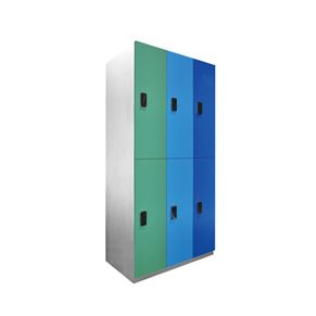 Colored Cabinet with Coded Lock