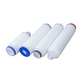 PTFE Microporous membrane pleated filter element