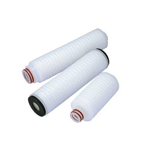 Nylon pleated filter element