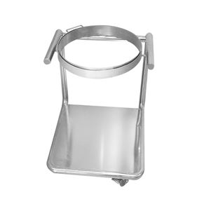 Stainless Steel Dustbin Rack